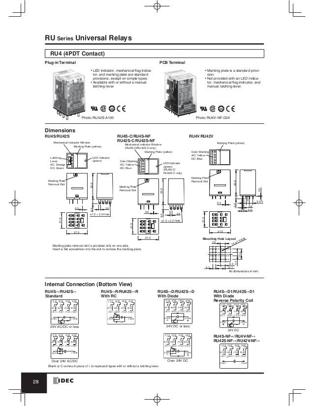 Idec Sy4s 05 Wiring Diagram idec rh2b-ul wiring diagram idec ... Idec Rh B Base Wiring Diagram on