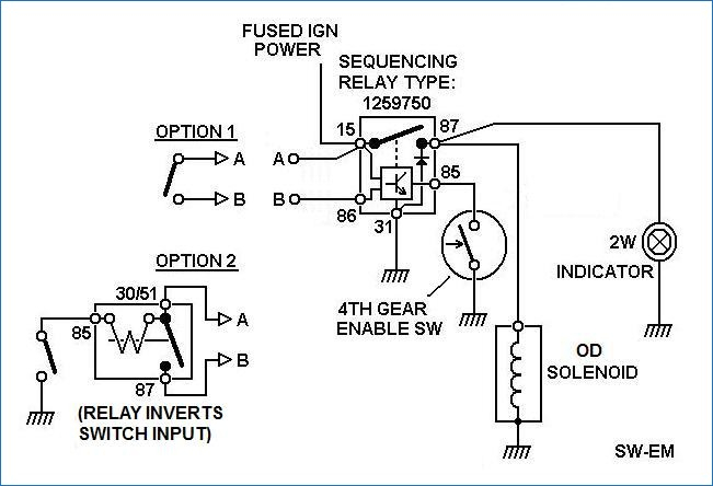 ignition relay wiring diagram Collection-SW EM OD Retrofitting on a vintage Volvo 86 volvo 240 manual overdrive problem Volvo Forums Volvo Starter Relay Wiring Diagram 4-r