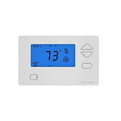 insteon thermostat wiring diagram Download-Insteon Smart Thermostat Works with Alexa via Insteon Hub Uses Superior Dual Mesh 6-k