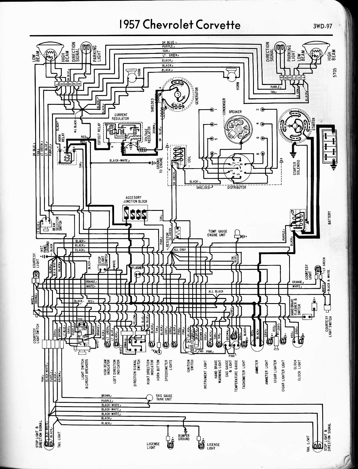 international truck wiring diagram manual Download-1957 Corvette 9-l.  DOWNLOAD. Wiring Diagram ...