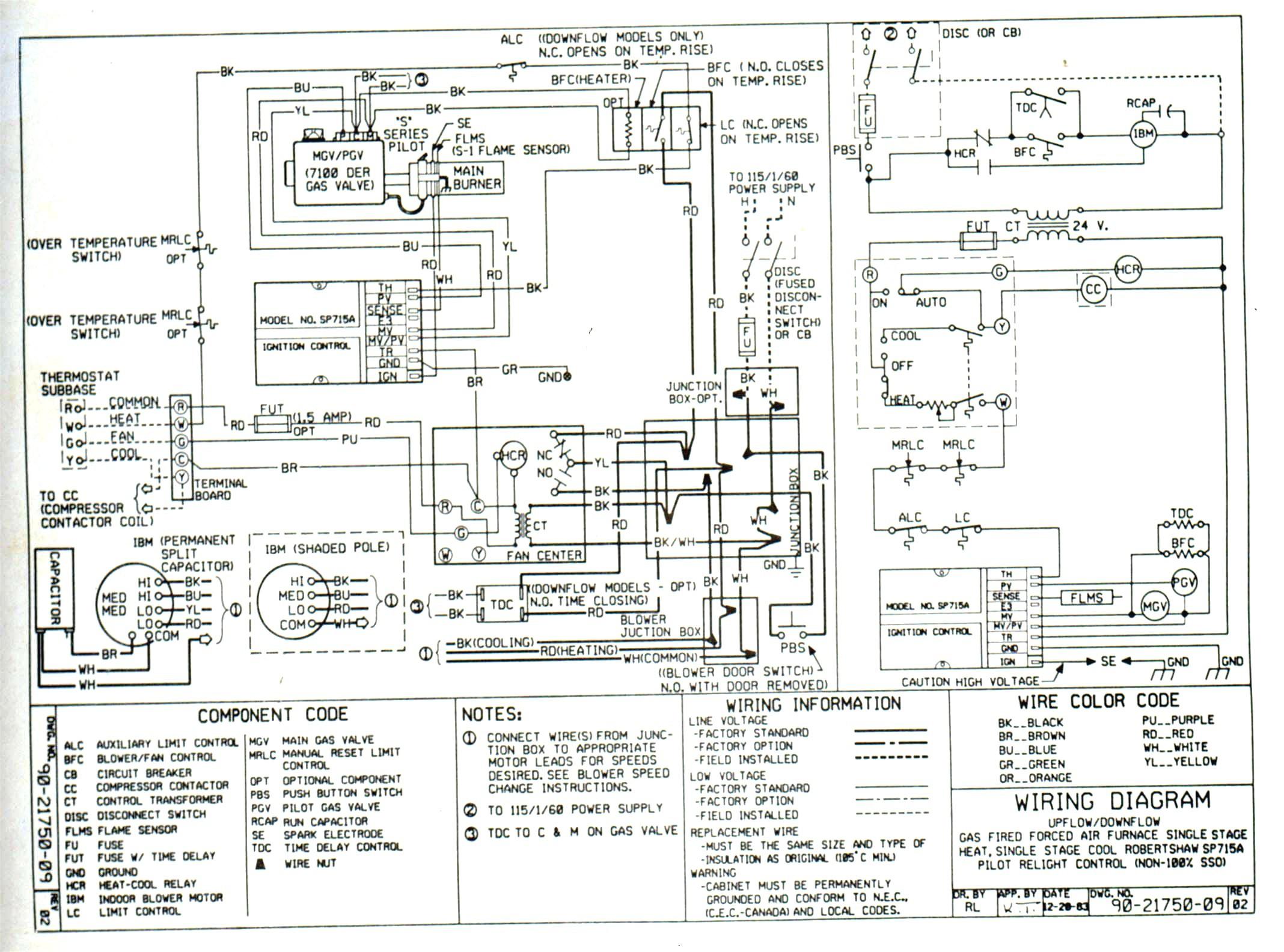 Ac Compressor Wiring Detailed Schematic Diagrams Fac Diagram 150 Intertherm Wwwautoacforumcom Rv Electrical