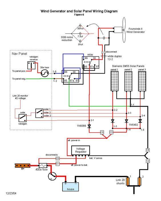 inverter generator wiring diagram Download-Wind generator and solar wiring diagram 16-h