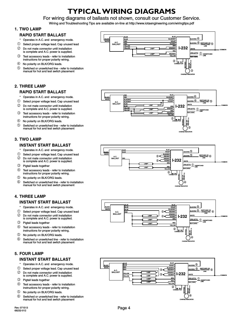 iota i320 emergency ballast wiring diagram Download-Emergency Ballast Wiring 2-g