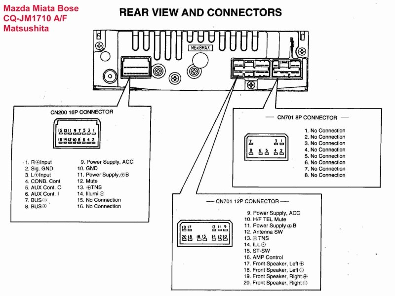 jaguar radio wiring diagram Collection-See 200 Mazda Car Radio Stereo Audio Wiring Diagram Autoradio Connector Wire Gallery size 800 x 600 px source 20-r