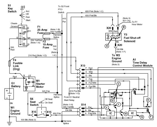 john deere gator clutch wiring diagram john deere gator starter wiring diagram john deere gator starter relay location - image of deer ledimage.co #4