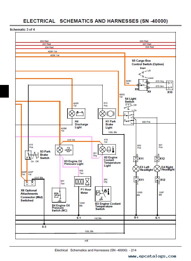 John Deere Hpx Wiring Diagram - Wiring Diagrams 24 on