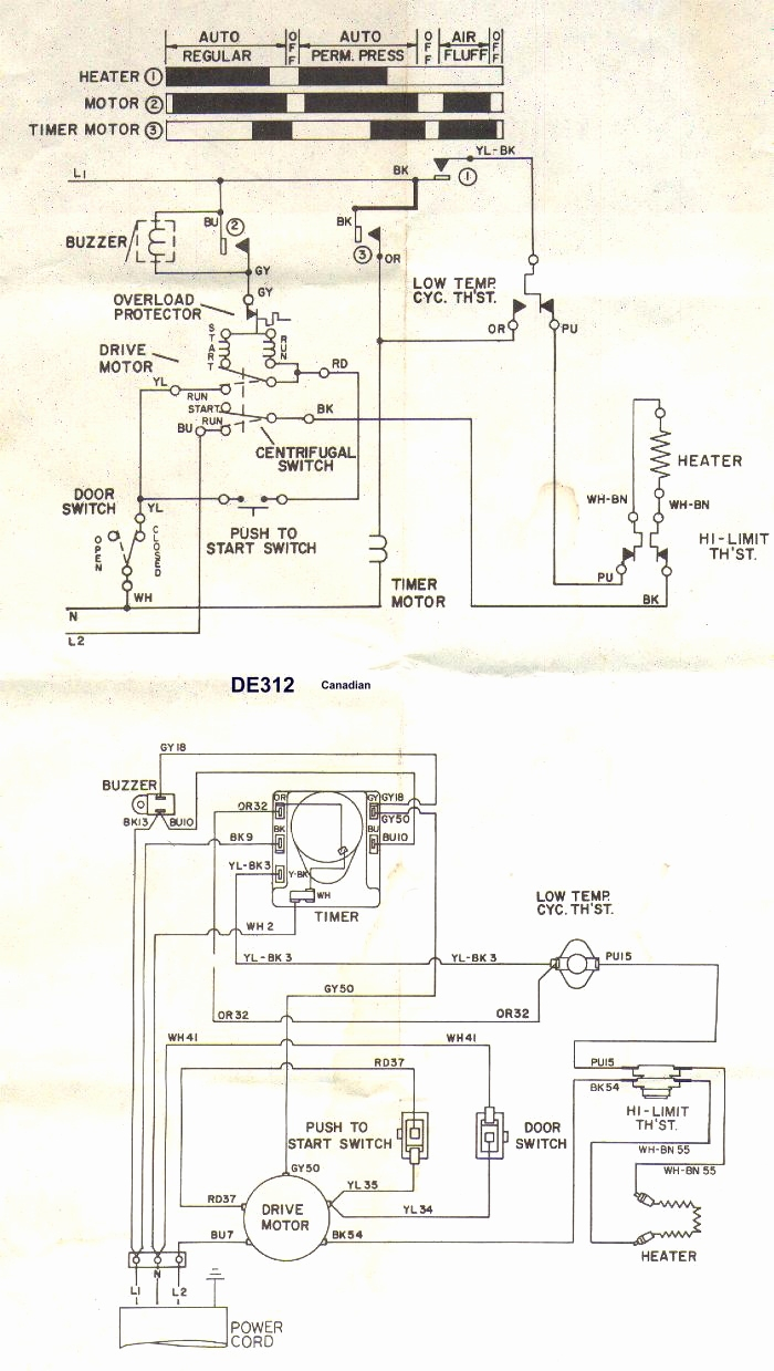 Whirlpool Dryer Wiring Diagram For Plug Solutions 220v Schematic A Power Auto Electrical