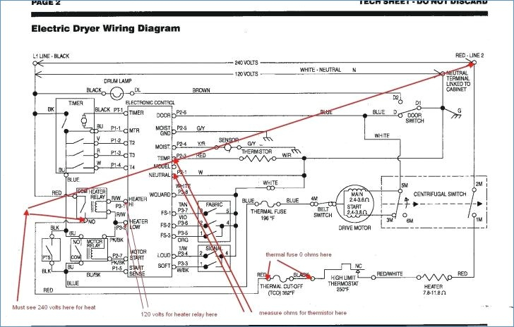 Kenmore Dryer Thermostat Wiring Diagram Collection Wiring Diagram