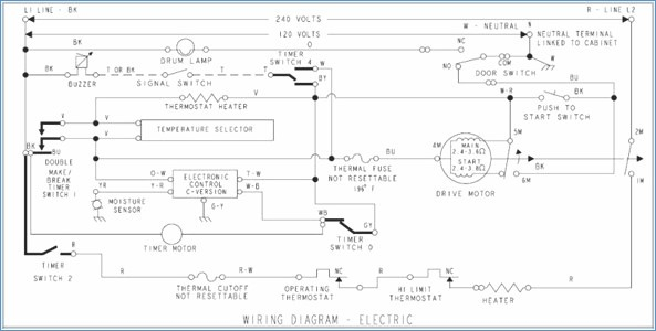 kenmore dryer wiring diagram Collection-Awesome Kenmore 110 Dryer Wiring Diagram Simple Wiring 12-j