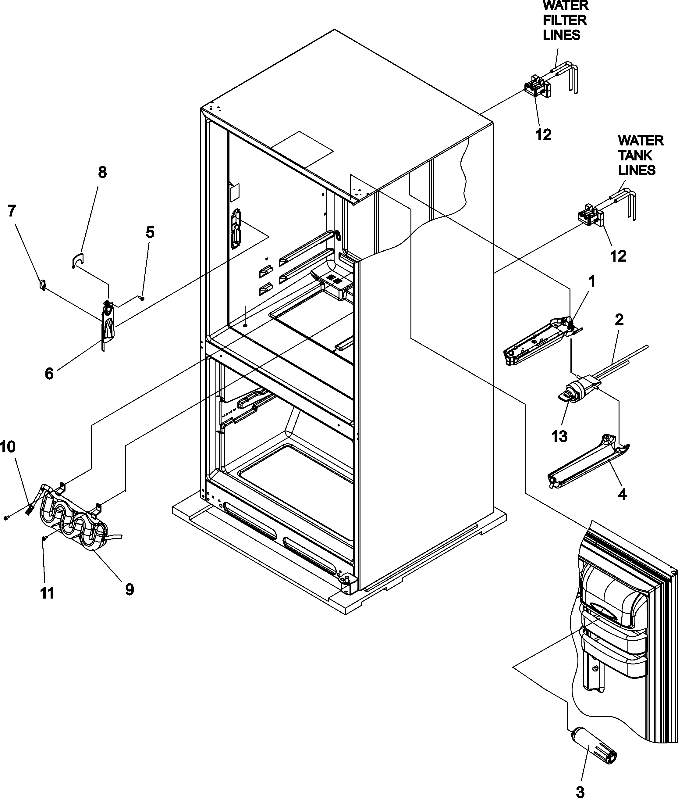 kenmore side by side refrigerator wiring diagram Download-Kenmore Elite Refrigerator Parts Diagram 19-o