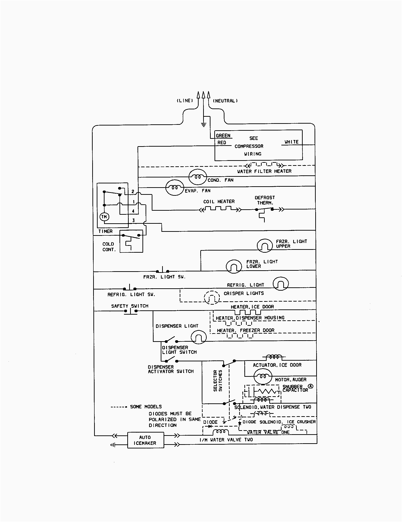 kenmore side by side refrigerator wiring diagram Download-Kenmore Refrigerator Wiring Diagram For Amazing And Ice Maker 19-b