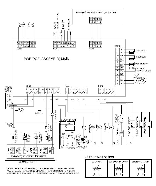 Kenmore Side by Side Refrigerator Wiring Diagram Download ... on