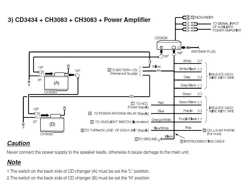 kenwood wiring diagram Download-Installing Car Stereo Wiring Diagram Beautiful Fujitsu Ten Car Radio Stereo Audio Wiring Diagram Autoradio 12-m