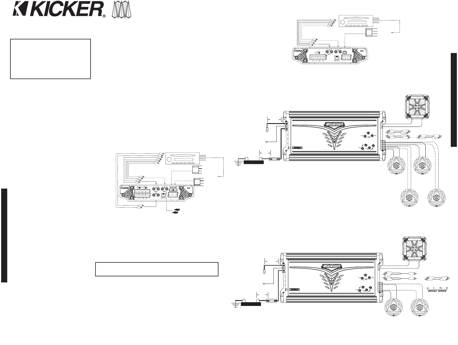 kicker kisl wiring diagram collection