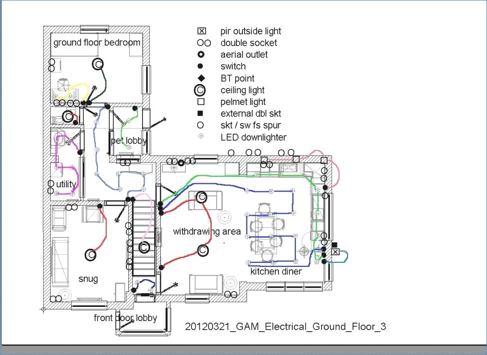 kitchen electrical wiring diagram collection