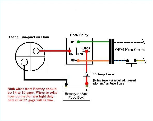 kleinn air horn wiring diagram Collection-Do I Really Need A Relay For After Market Horn In Wolo Wiring 16-t