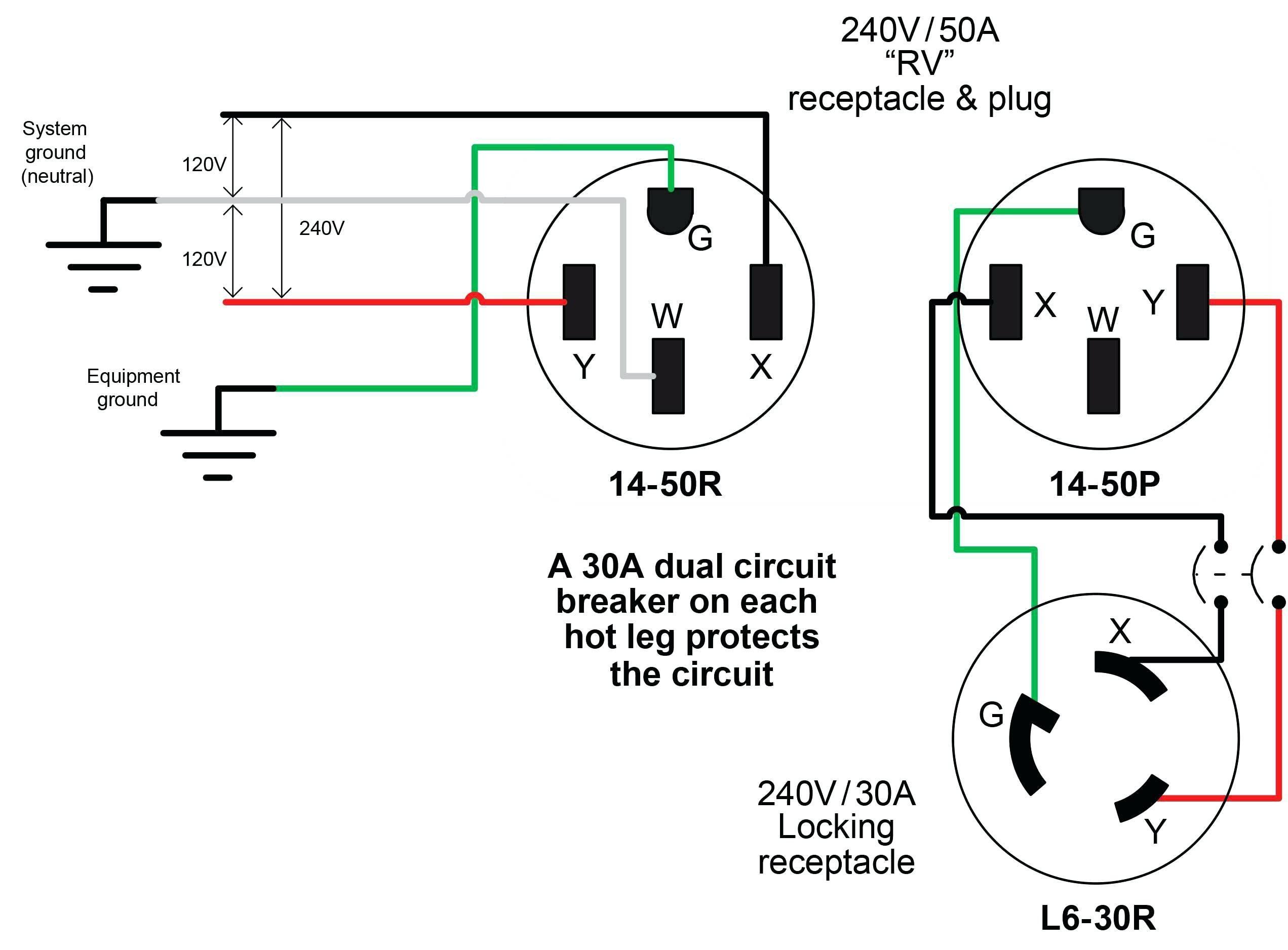 l14 30r wiring diagram Collection-Nema L14 30 Wiring Diagram Best 110v Plug Wiring  Diagram