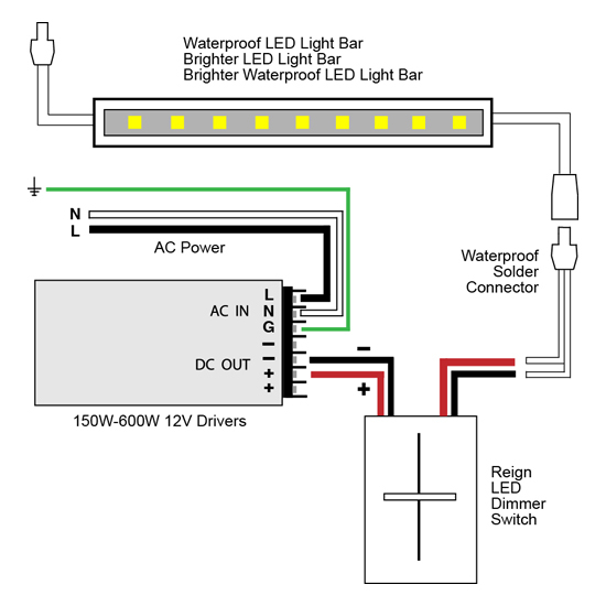led driver wiring diagram Download-Installing A 2 Wire Led Dimmer Switch Beautiful Vlightdeco Trading Led Wiring Diagrams for 12v Led 6-d