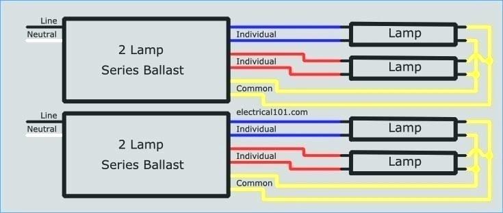 Replace 4 Lamp Parallel Ballast Wiring Diagrams - WIRE Center • on advance ballast diagram, electronic ballast diagram, fluorescent light diagram, programmed start ballast wiring diagram, rapid start ballast wiring t12 to t8, instant start ballast wiring diagram,
