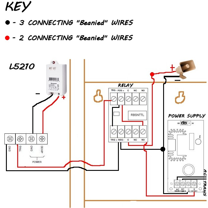 led light wiring diagram Collection-led flood light wiring diagram Inspirational Honeywell SIRENKIT OD Outdoor Siren Kit for LYNX Touch Control 19-q