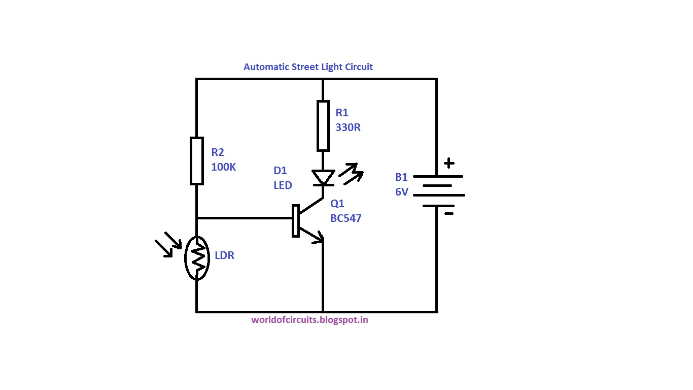led street light wiring diagram Download-great our work with light circuit diagram 6-m