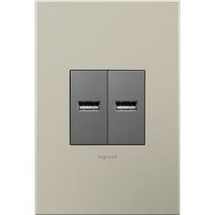 legrand adorne wiring diagram Download-Legrand 2 1 Amp Adorne USB Magnesium Square Duplex 1-f