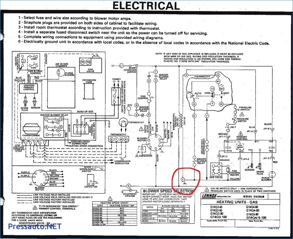 Wiring Diagram Ruud Heat Pump