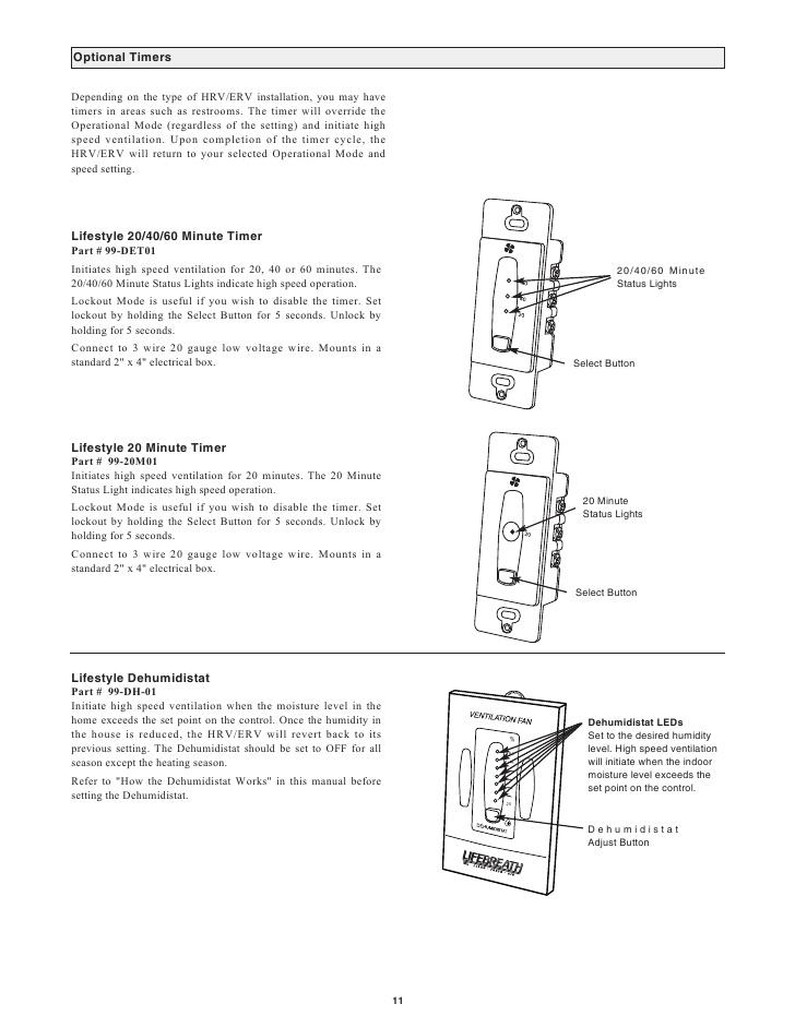 lifebreath hrv wiring diagram Download-10 11 8-d