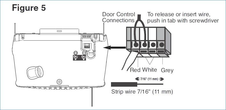 liftmaster garage door wiring diagram Collection-Liftmaster Garage Door Opener Wiring Diagram 5-j