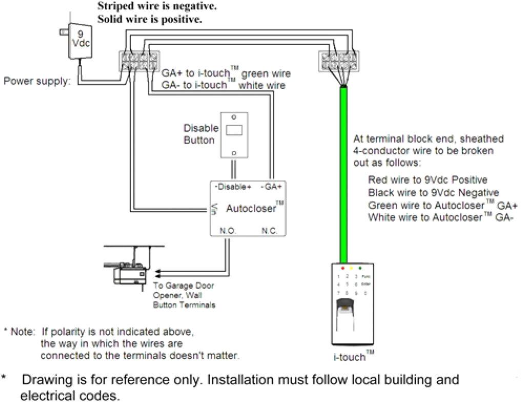 Power Lift Garage Door Opener Diagram Circuit Connection Diagram