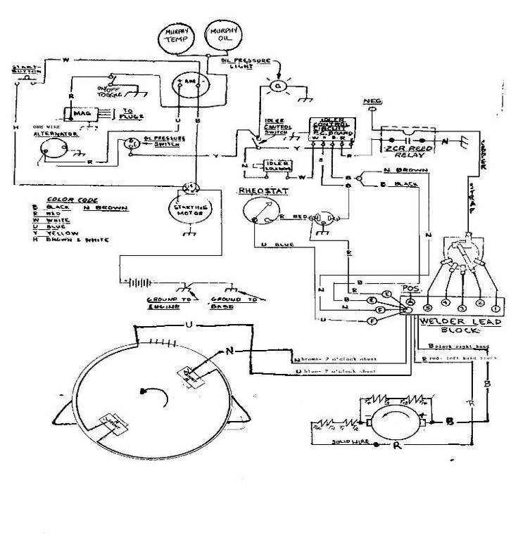 Welding Wiring Diagram