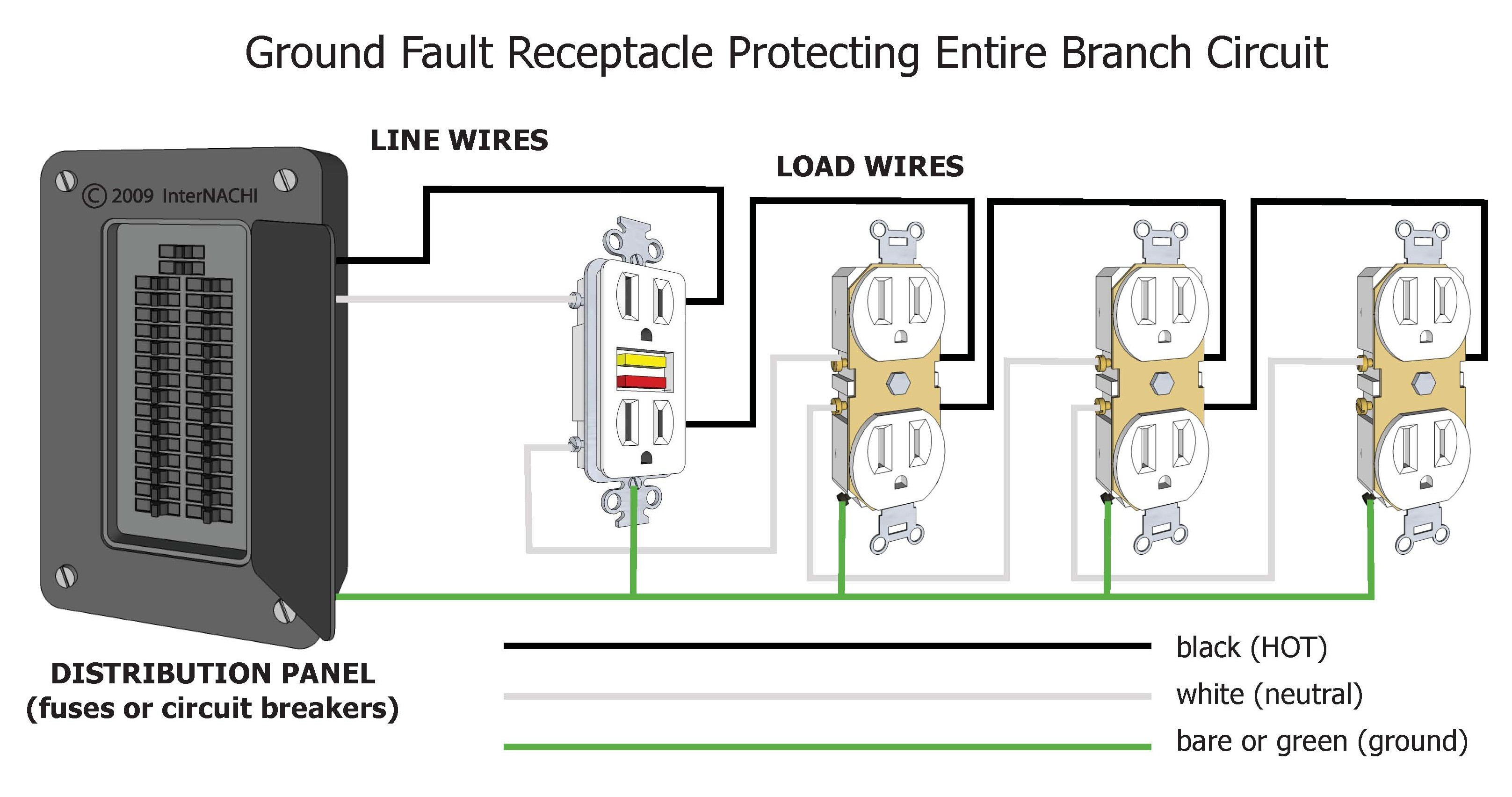 load center wiring diagram Collection-Circuit Breaker Diagram New Ground Fault Circuit Interrupter Wiring Diagram 17-j