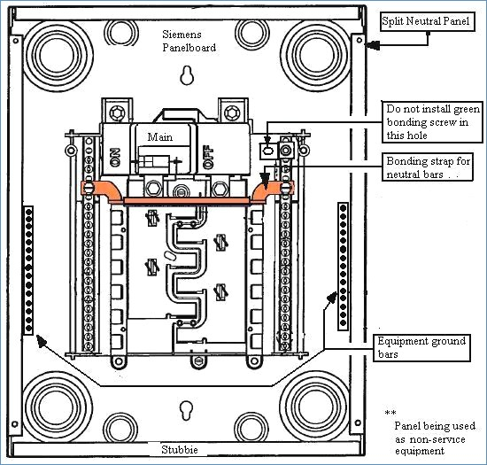 load center wiring diagram gallery