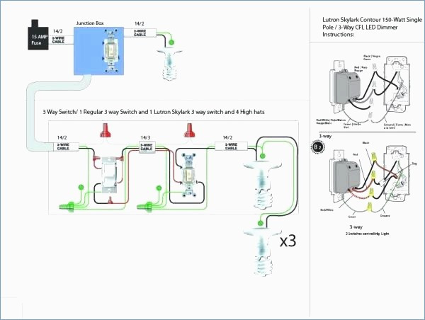 lutron 3 way switch wiring diagram Download-Lutron 3 Way Led Dimmer Wiring Diagram Fasett Info 12-a