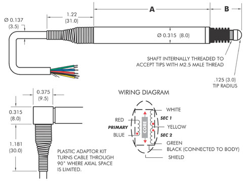 lvdt wiring diagram Collection-tsc bbp315 drawing 17-s