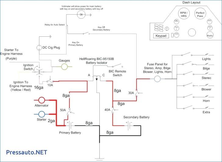 marine wiring diagram software Download-Wiring Diagram Maker Marine Alternator Unique For Prestolite 10-p