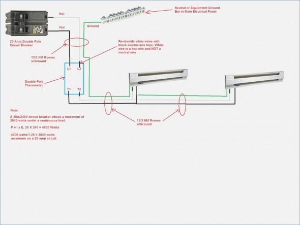 marley electric baseboard heater wiring diagram Download-new wiring diagram for 240v baseboard heater wired basement for of marley electric baseboard heater wiring diagram 0 8-n