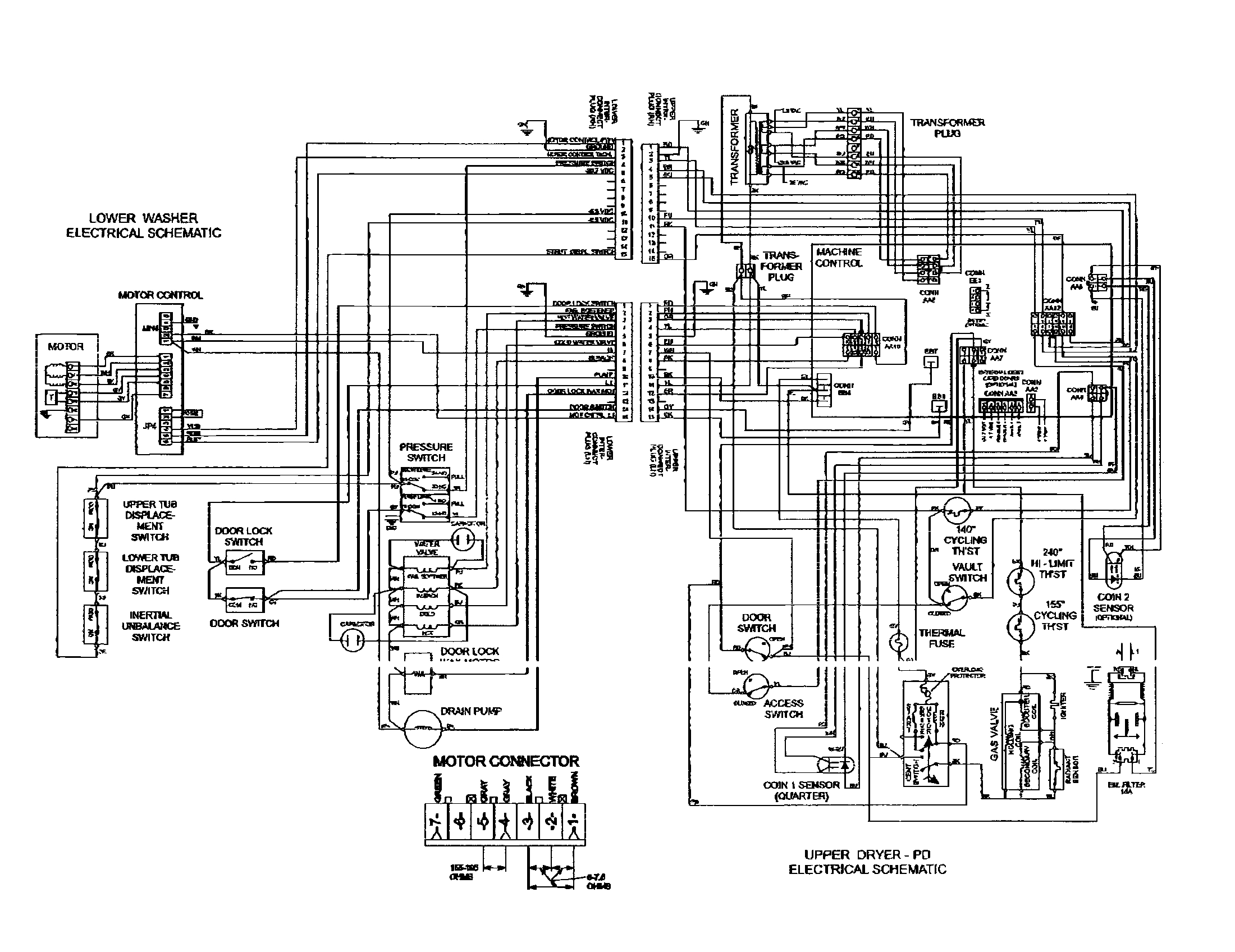 amana washing machine wiring diagram