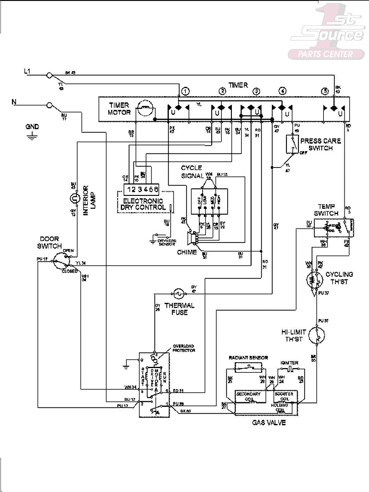 chamberlain liftmaster professional 1 3 hp wiring diagram