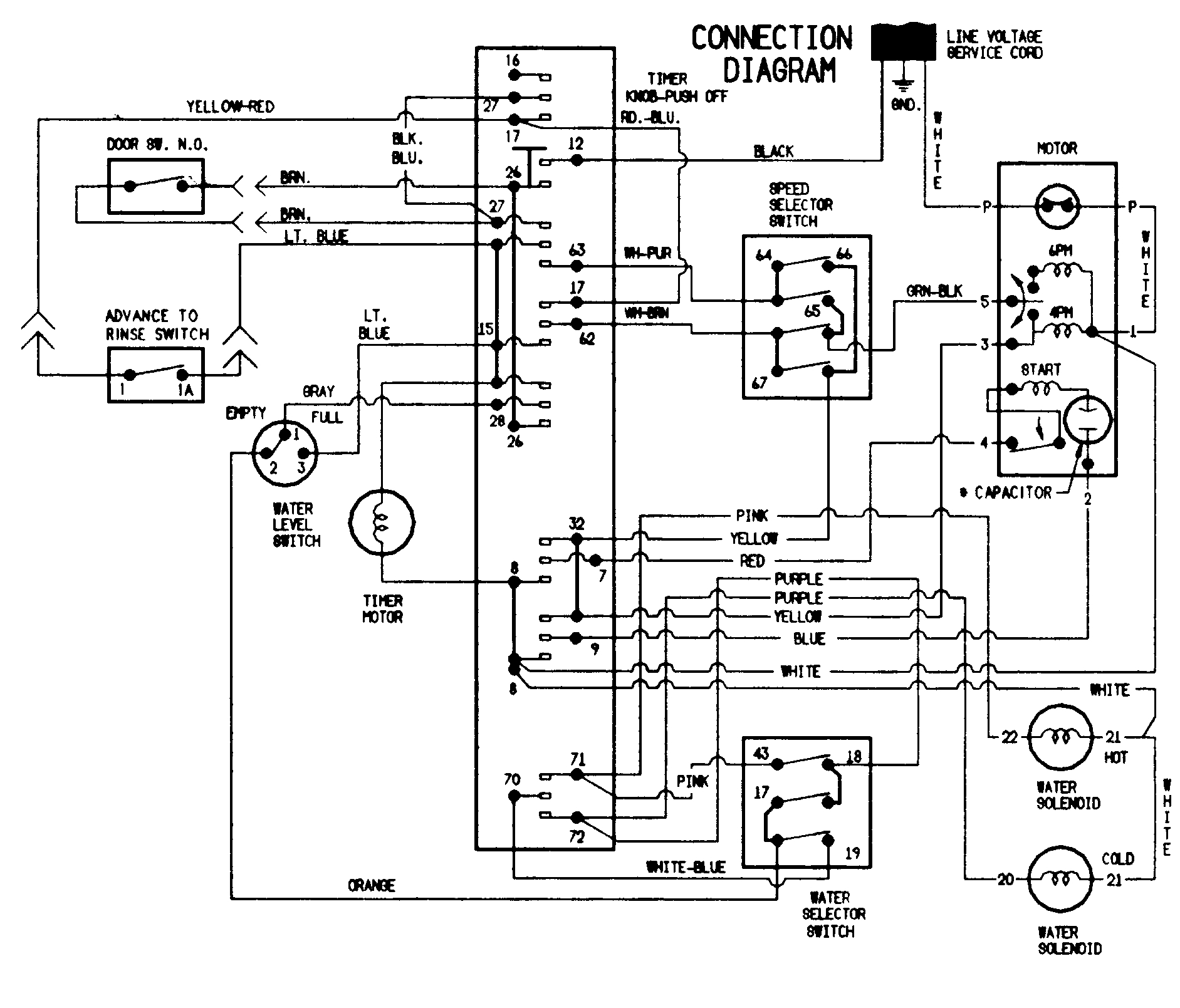 maytag washer wiring diagram Download-Maytag Washer Wiring Diagram Luxury Maytag Washer Parts Model Pav2000aww 18-i