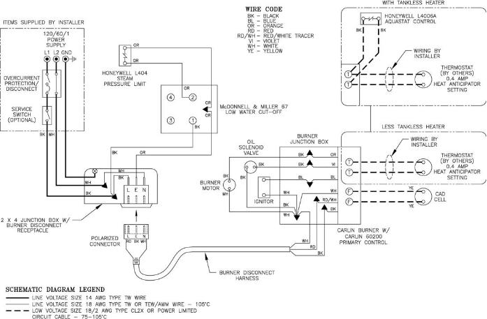mcdonnell miller 67 wiring diagram Download-Figure 21A Wiring Diagram Steam McDonnell & Miller 67 Float LWCO for Carlin Burners 19-b