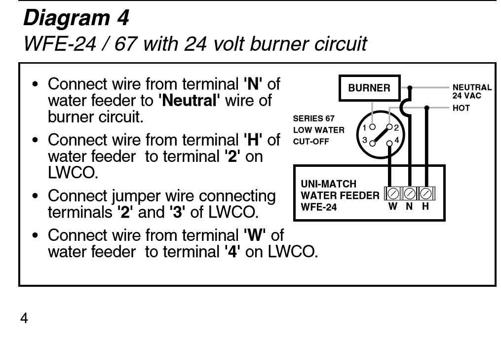 mcdonnell miller 67 wiring diagram Collection-gallery of Wfe 24 Water Feeder Wiring Diagram 4-p