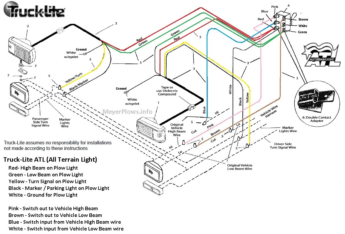 Meyer Snow Plow Lights Wiring Diagram Collection