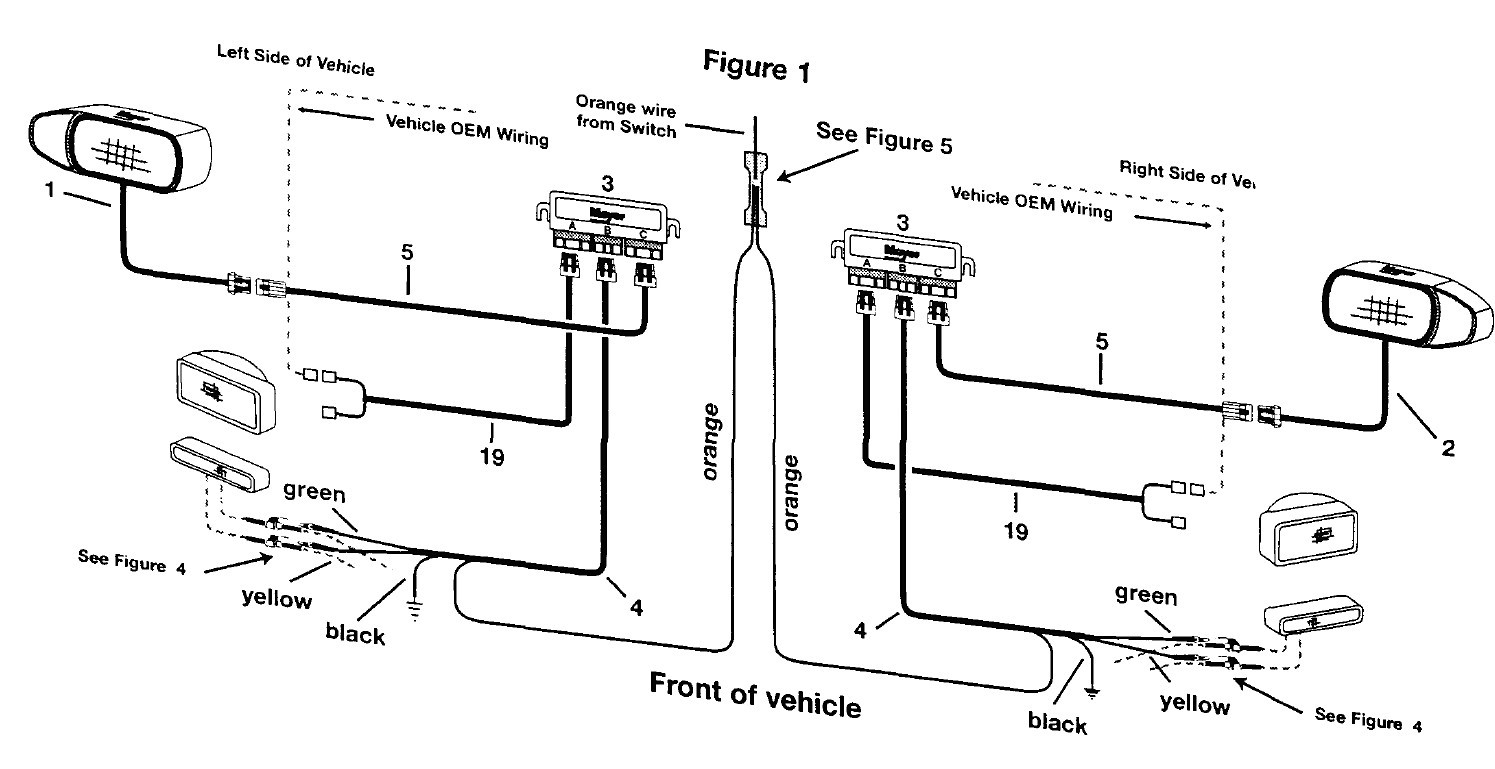 Meyer    Snow Plow       Lights       Wiring       Diagram    Collection      Wiring