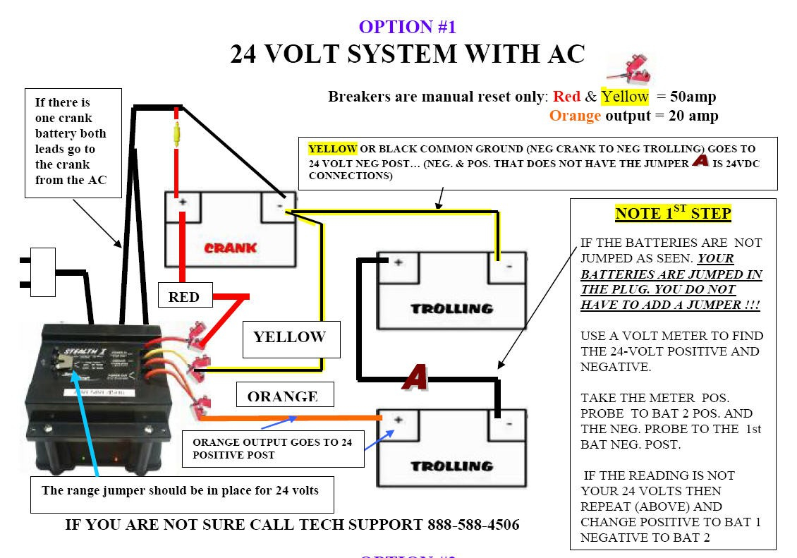 minn kota wiring diagram manual Collection-Minn Kota 3 Bank Charger Wiring Diagram Luxury 24 Volt Battery Wiring Diagram Agnitum 2-a
