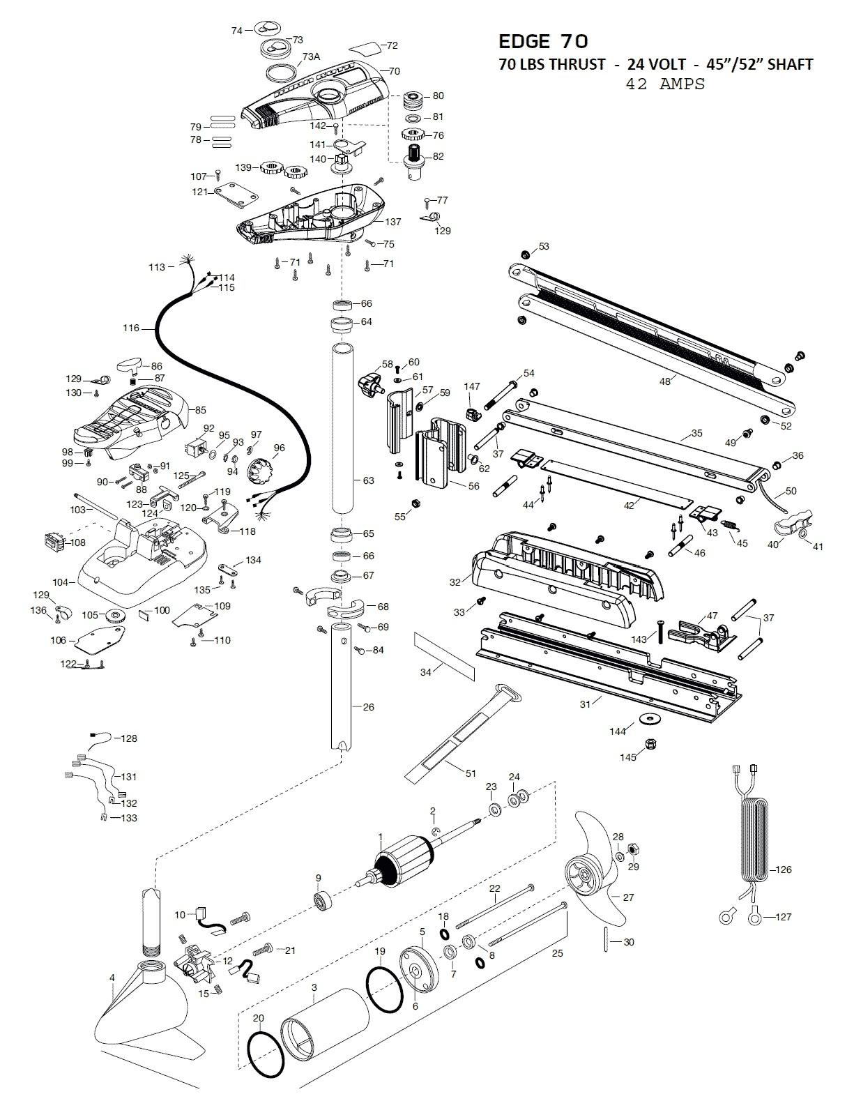 minn kota wiring diagram manual Collection-View Full Size Diagram 5-p