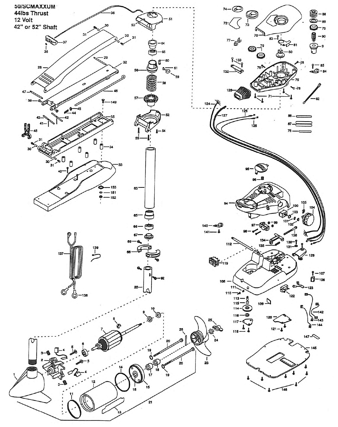 Wiring Diagram All Boats Motor Repalcement Parts And Diagram