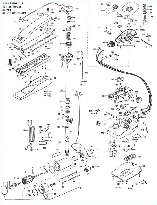 minn kota wiring diagram Collection-Minn Kota 65 Trolling Motor Parts 7-k