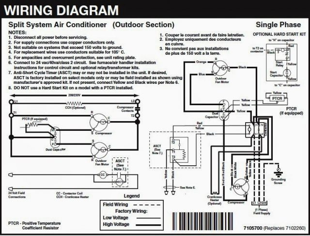 Wiring Diagram For Air Conditioner - Custom Wiring Diagram •