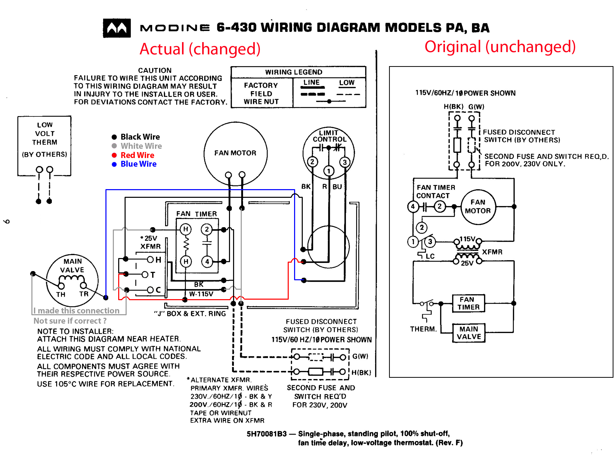 modine heater wiring schematic diy enthusiasts wiring diagrams u2022 rh broadwaycomputers us electric water heater wiring schematic Pool Heater Wiring Diagram
